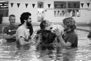 Dave hall baptism