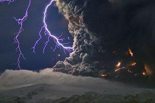 Iceland's New Volcano Eruption
