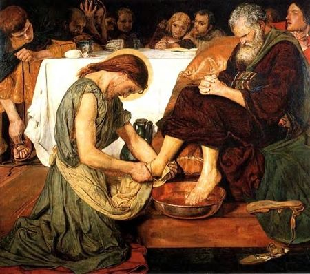 Peter Foot Washing