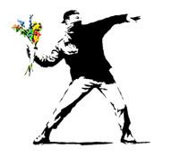 Banksysayitwithflowers_3